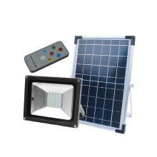 Solar Powered Slim IP65 Waterproof Lampu Sorot Luar Ruangan